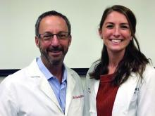 Alyssa Style, DO, (right) and Neil Skolnik, MD