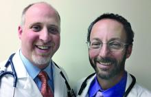 Dr. Chris Notte and Dr. Neil Skolnik of Abington (Pa.) Jefferson Health