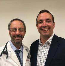 Dr. Neil Skolnik and Aaron Sutton, Abington (Pa.) Jefferson Health