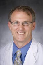 Dr. Neil Stafford of the Division of Hospital Medicine, Duke University Health System, Durham, NC