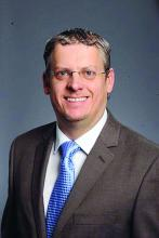Dr. Scott Steinbach, chief of hospital medicine, Atlanta VAMC, and assistant professor of medicine, division of hospital medicine, Emory University, Atlanta