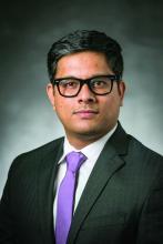 Dr. Padageshwar Sunkara, MBBS, assistant professor in the Section of Hospital Medicine at Wake Forest University, Winston-Salem, N.C.