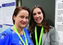 Cristina Trandafir, MD, PhD, assistant professor of pediatric neurology, and Shanna Swartwood, MD, a fellow the department of pediatric neurology at University of Utah in Salt Lake City