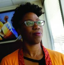 Dr. Omolara Uwemedimo, associate professor of pediatrics and occupational medicine at Northwell Health, New York