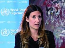 Dr. Maria Van Kerkhove of the World Health Organization