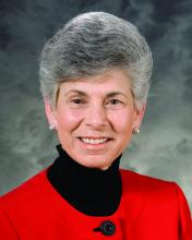 Dr. Ellen R. Wald, chair of the department of pediatrics at the University of Wisconsin, Madison.
