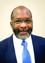 Dr. Vindell Washington, chief medical officer of Blue Cross Blue Shield of Louisiana