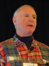 Dr. Michael E. Weinblatt talks at the Winter Rheumatology symposium.