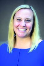 Emily Whitgob, a developmental-behavioral pediatrician at Santa Clara Valley Medical Center in San Jose