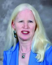 Lucia Wocial, PhD, RN, a nurse ethicist and co-chair of the Ethics Consultation Sub-Committee at Indiana University Health.