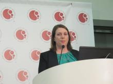 Dr. Jennifer A. Woyach of The Ohio State University Comprehensive Cancer Center, Columbus.