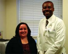 Suzanne Walles, manager, PICS, and George Davis, MD, medical director, PICS.