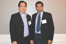 Dr. Richard Kwon (left) and Dr. Ashish Nimgaonkar