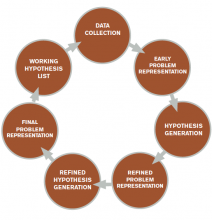 Figure 2. The process of diagnostic reasoning