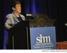 """MGMA's Rose Shattuck, CPC, gives hospitalists a """"revenue checkup."""""""