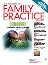 Journal of Family Practice August 2016 cover