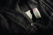 Bottle of opioids in a jeans pocket