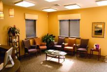empty waiting room